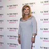 Terelu Campos en el cumpleaños de su hermana Carmen Borrego