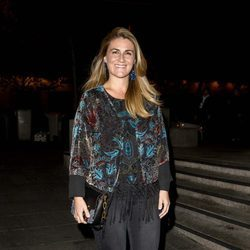 Carlota Corredera en el cumpleaños de Carmen Borrego, hermana de Terelu Campos