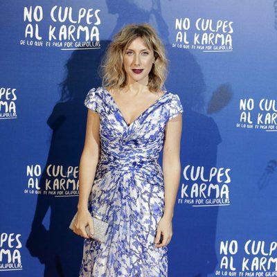 Cecilia Freire durante la premiere de la película 'No culpes al karma de lo que te pasa por gilipollas