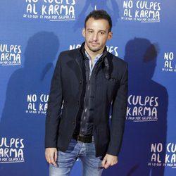 Alejandro Amenábar durante la premiere de la película 'No culpes al karma de lo que te pasa por gilipollas'