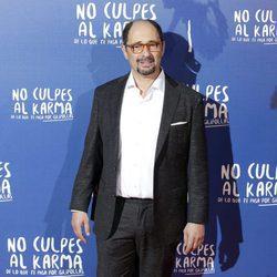 Jordi Sánchez durante la premiere de la película 'No culpes al karma de lo que te pasa por gilipollas'