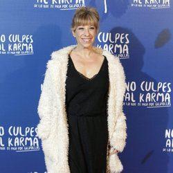 Nathalie Seseña durante la premiere de la película 'No culpes al karma de lo que te pasa por gilipollas'