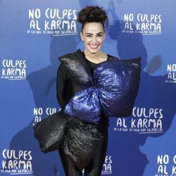 Cristina Rodríguez durante la premiere de la película 'No culpes al karma de lo que te pasa por gilipollas'