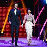 Uri Sabat y Raquel Sánchez Silva en la ceremonia de entrega de los Premios Ondas 2016