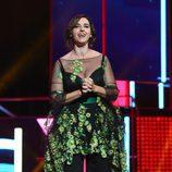 Llum Barrera en la ceremonia de entrega de los Premios Ondas 2016