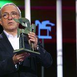 Javier Sardá en la ceremonia de entrega de los Premios Ondas 2016
