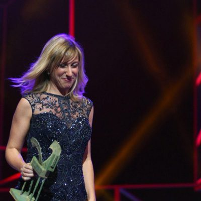 Cecilia Freire en la ceremonia de entrega de los Premios Ondas 2016