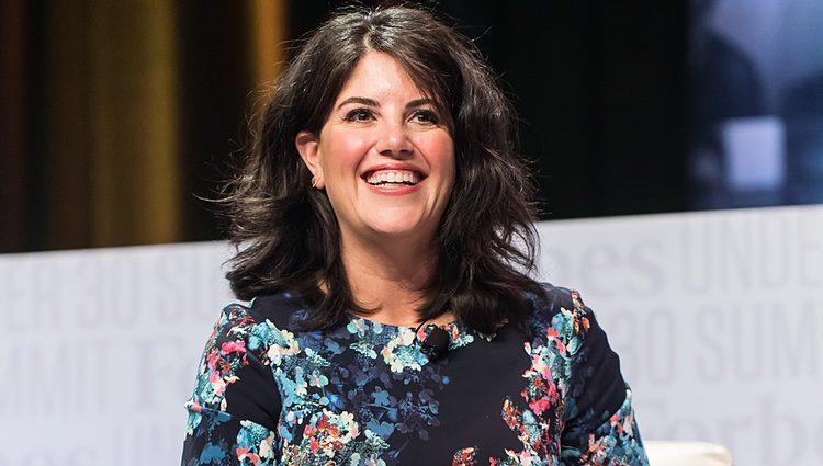 Monica Lewinsky en una conferencia