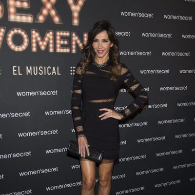 Paloma Lago en la presentación del musical 'We are sexy women'