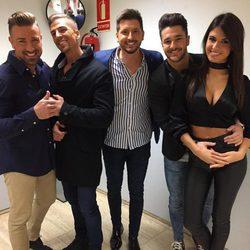 Rafa Mora, Labrador, Manu Lombardo, Hugo Paz y Sofía Suescun en 'MyHyV'
