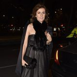 Nuria March en la fiesta en honor a Carolina Herrera