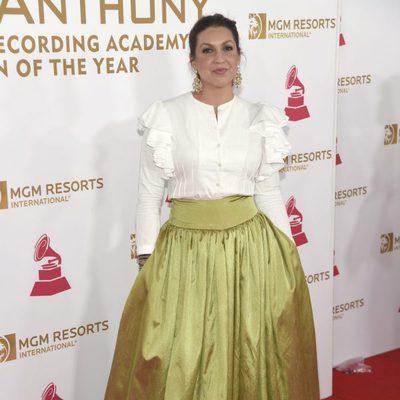 Niña Pastori en la gala Persona del Año 2016
