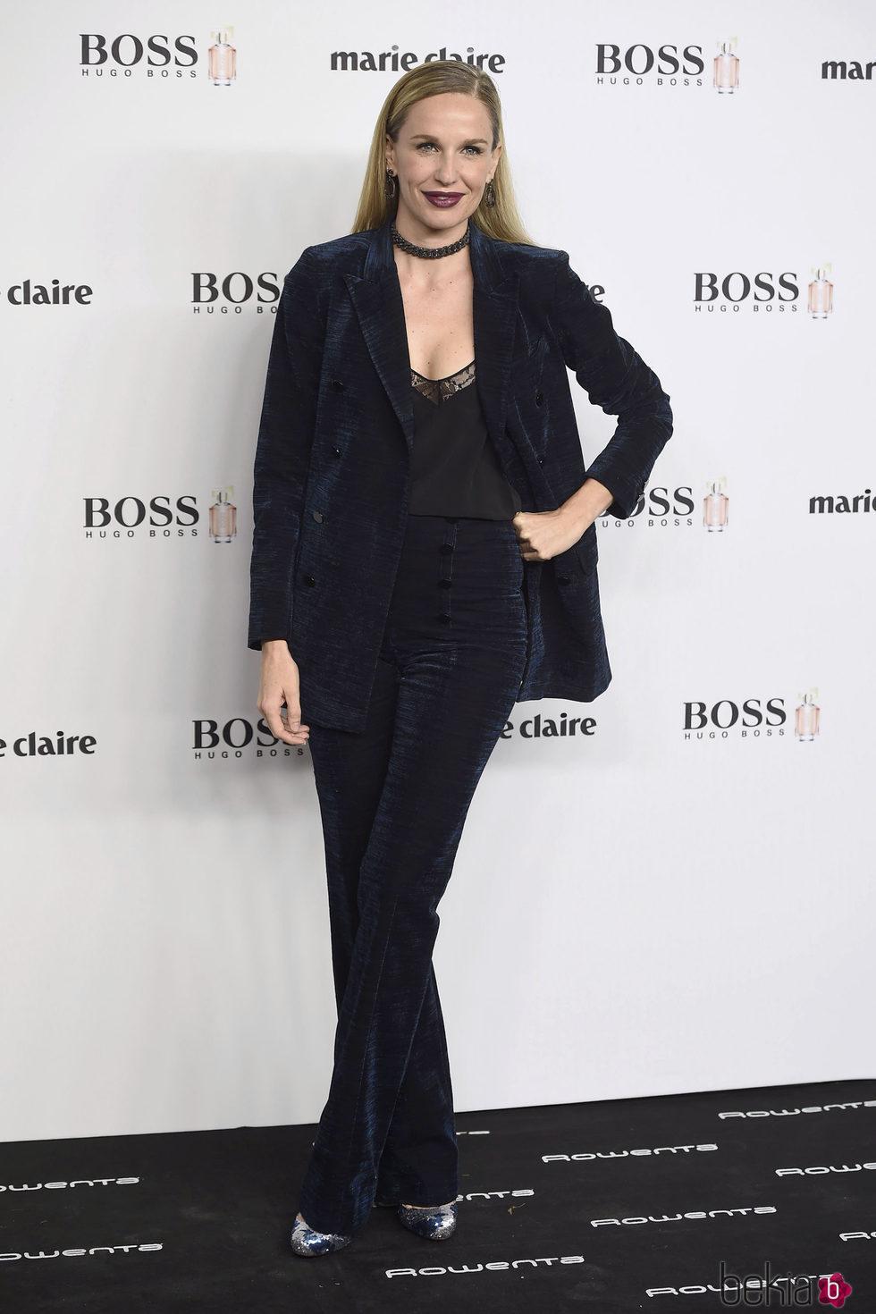 Carola Baleztena en la entrega de los Prix de la Moda 2016