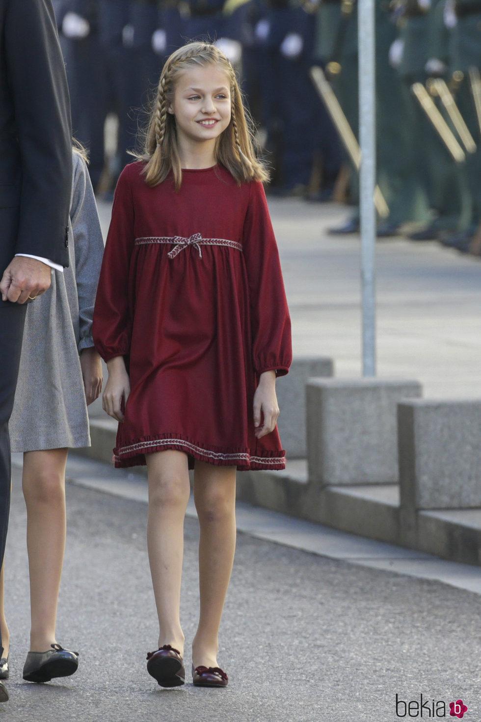 La Princesa Leonor en la Apertura de la XII Legislatura