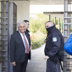 Chiquetete llegando a los Juzgados de lo Penal de Madrid para su juicio contra Raquel Bollo
