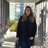 Carlota Corredera saliendo de los juzgados de lo Penal de Madrid tras el juicio de Raquel Bollo y Chiquetete