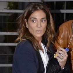 Raquel Bollo saliendo de los Juzgados de lo Penal de Madrid