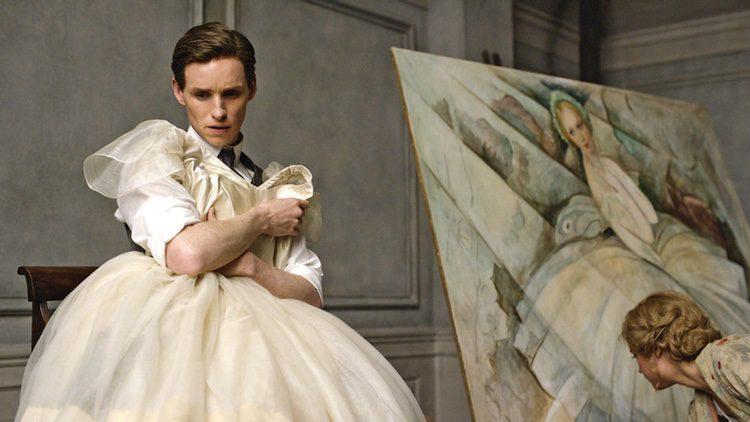 Eddie Redmayne en una escena de 'La chica danesa'