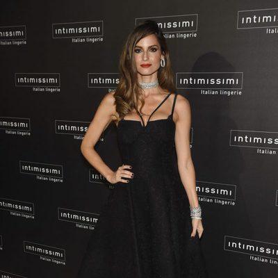 Ariadne Artiles en la fiesta del 20 aniversario de Intimissimi en Madrid