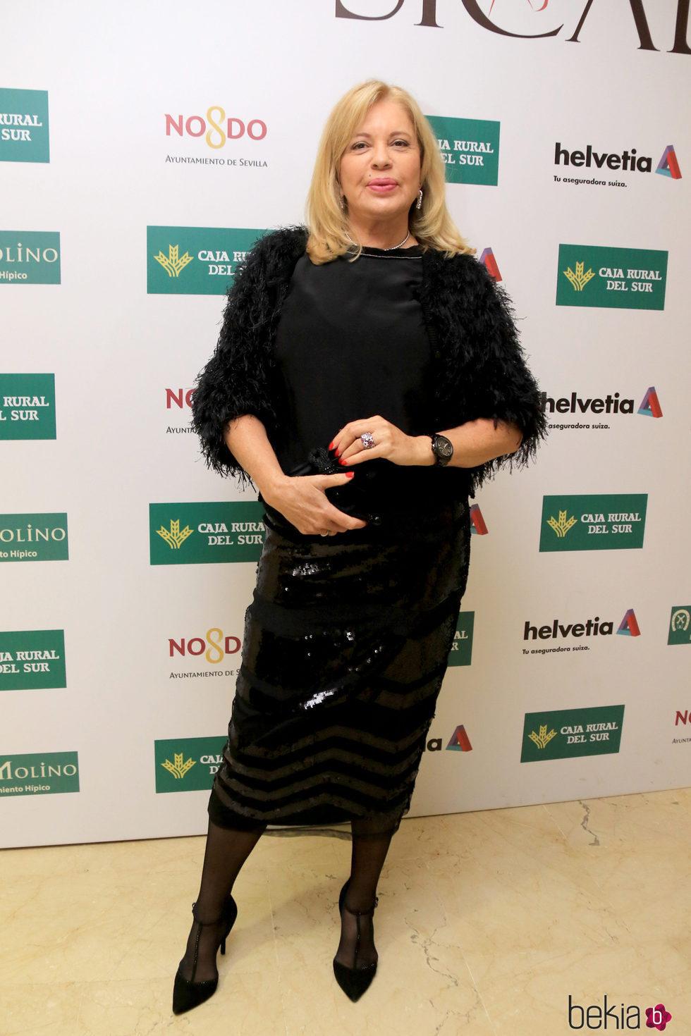 Bárbara Rey en el Salón Internacional del Caballo 2016