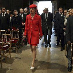 Carlota Casiraghi en el Te Deum del Día Nacional de Mónaco 2016
