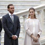Pierre Casiraghi y Beatrice Borromeo en el Día Nacional de Mónaco 2016