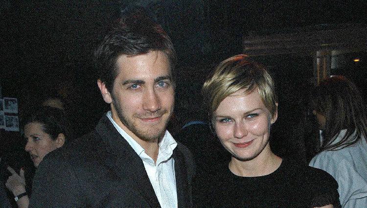 Jake Gyllenhaal y Kirsten Dunst cuando estuvieron juntos