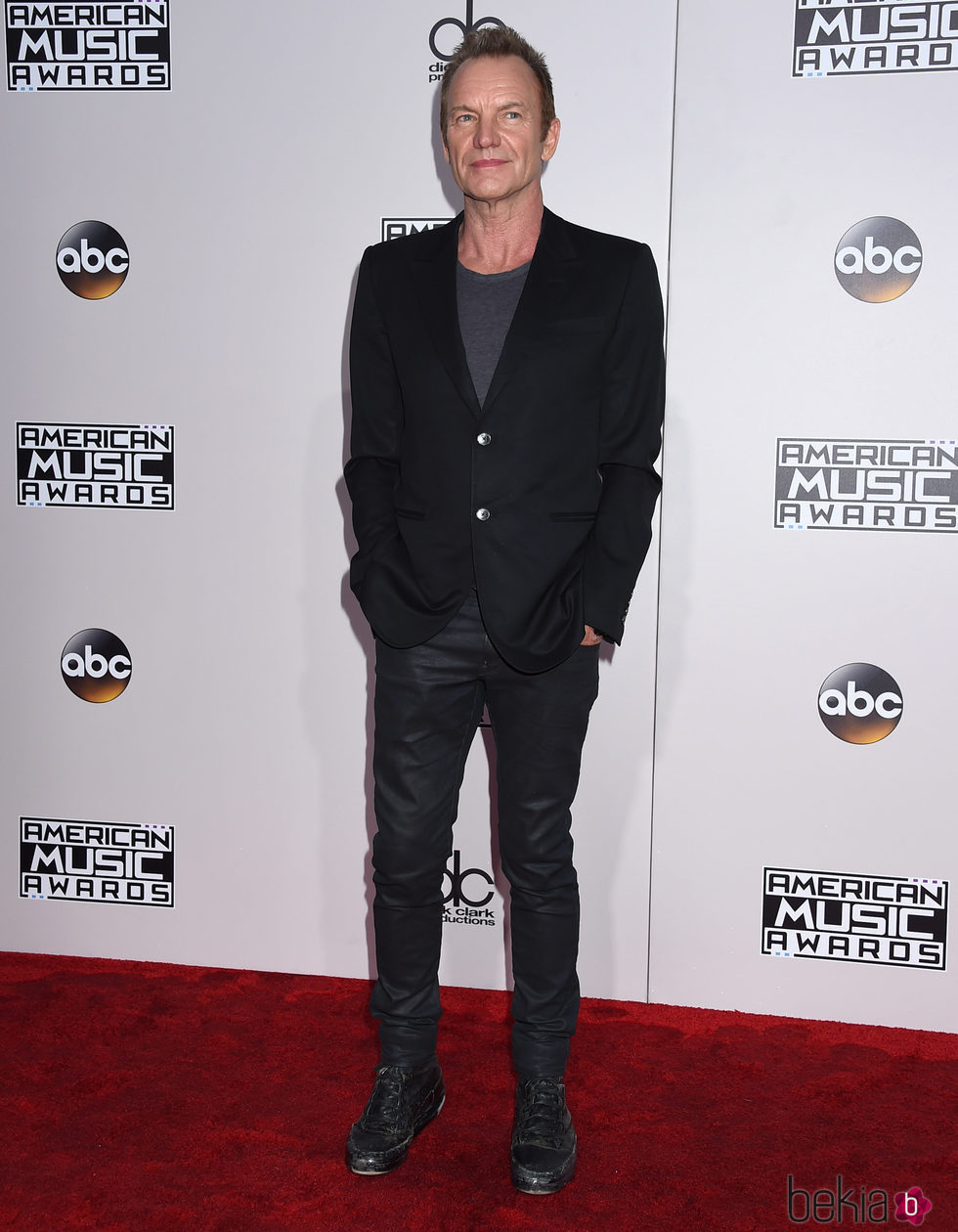 Sting en los American Music Awards 2016