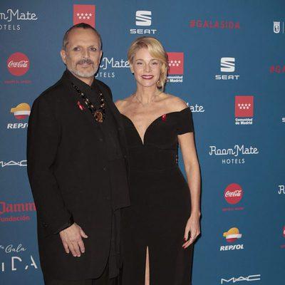 Miguel Bosé y Belén Rueda en la Gala Sida 2016