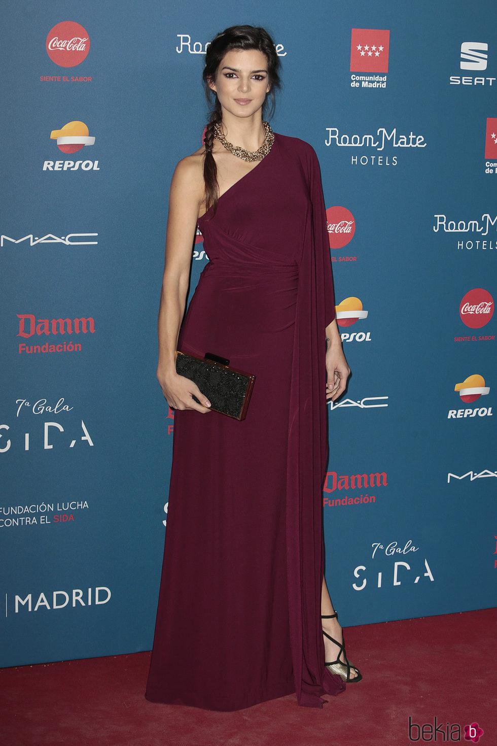Clara Lago en la Gala Sida 2016
