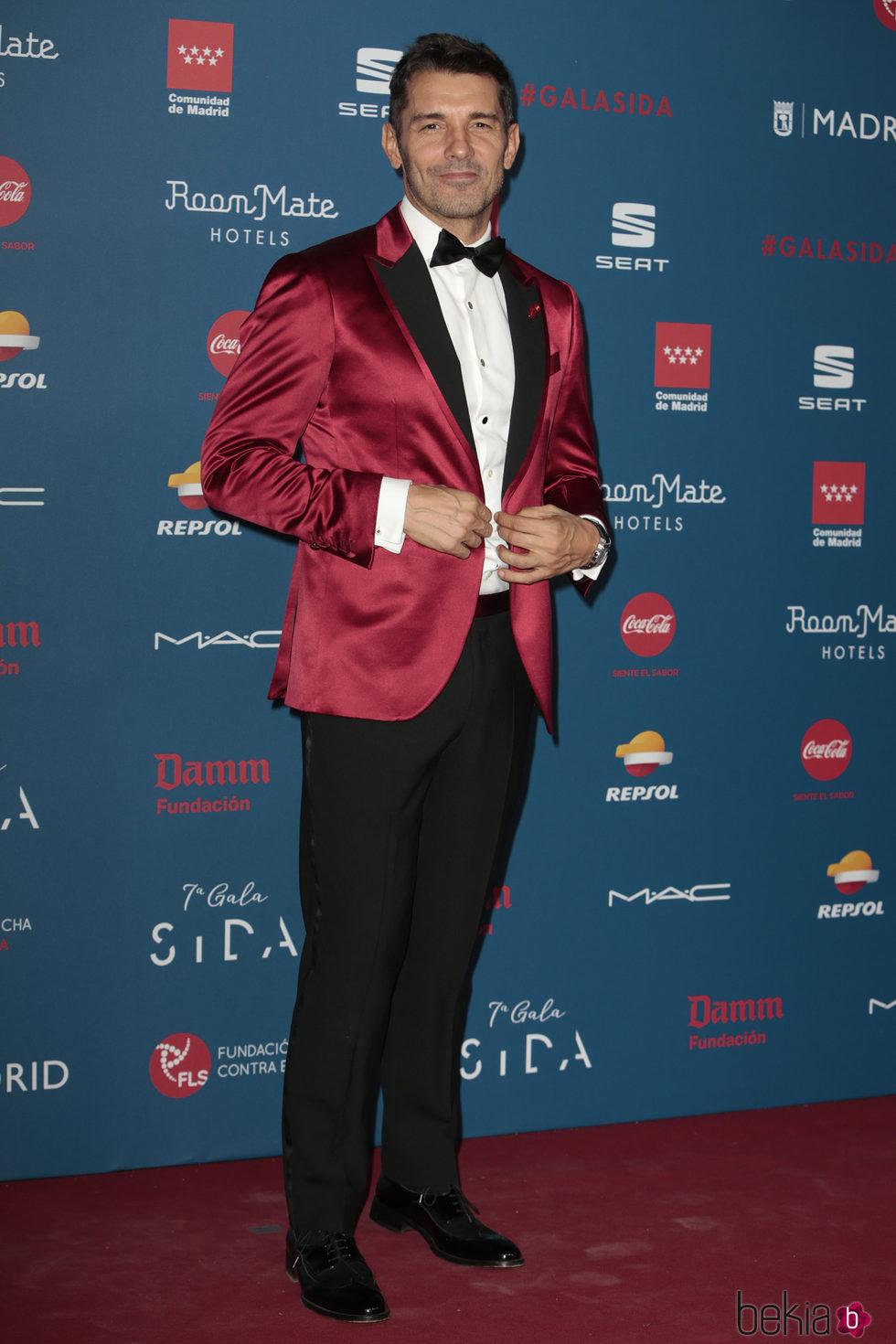 Jesús Vázquez en la Gala Sida 2016