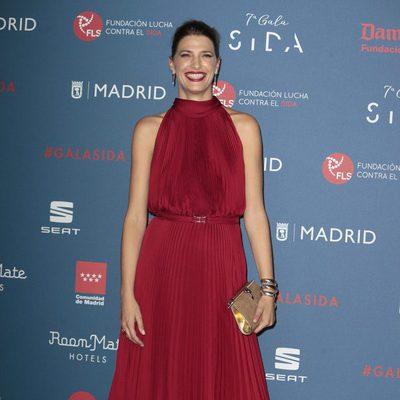 Laura Sánchez en la Gala Sida 2016