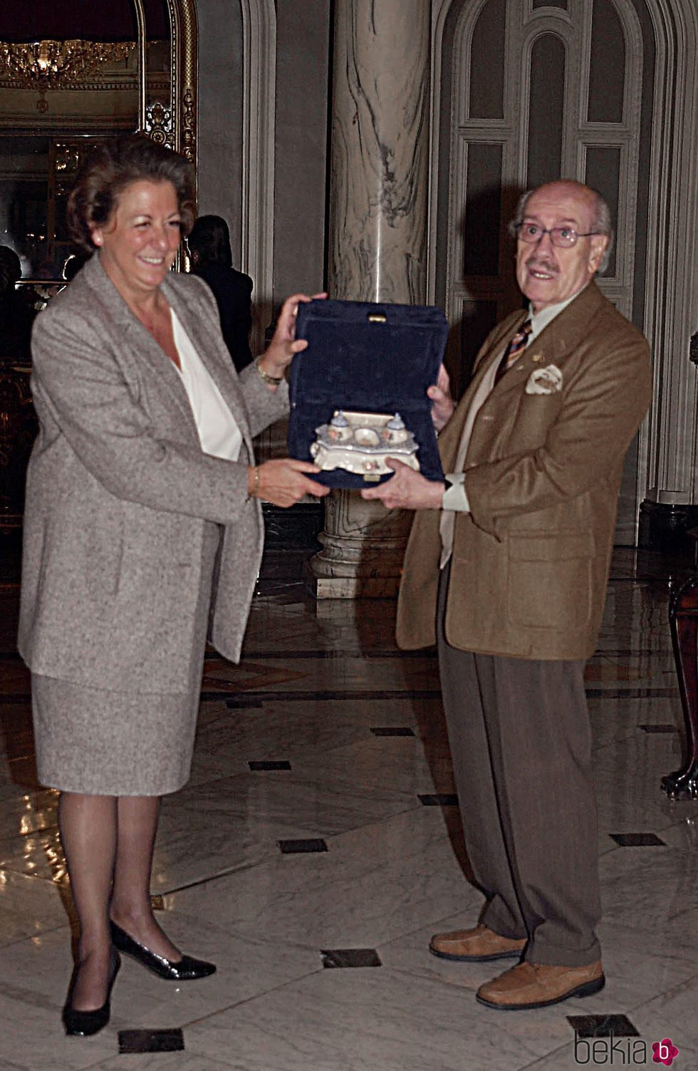Rita Barberá y José Luis López Vázquez