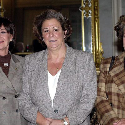 Concha Velasco, Rita Barberá y Carmen Sevilla
