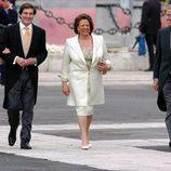Rita Barberá en la boda de los Reyes Felipe y Letizia