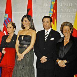 Lina Morgan, Inés Sastre, Andy García y Rita Barberá