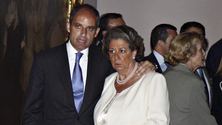 Francisco Camps y Rita Barberá