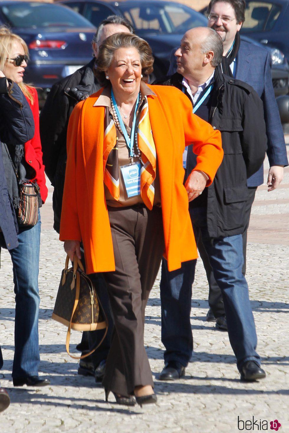 Rita Barberá en el XVII Congreso del PP