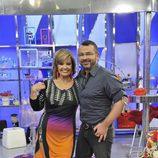 María Teresa Campos y Jorge Javier Vázquez