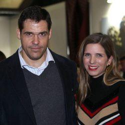 Luis Alfonso de Borbón y Margarita Vargas en el Rastrillo 2016