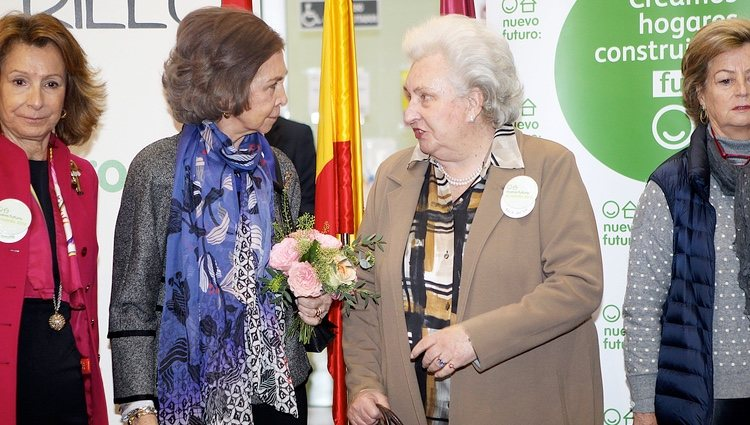 La Reina Sofía y la Infanta Pilar en el Rastrillo Nuevo Futuro 2016