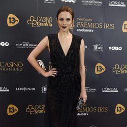 Aura Garrido en los Premios Iris 2016
