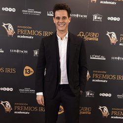 Christian Gálvez en los Premios Iris 2016