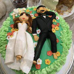 Tarta de bodas de Sofia Vergara y Joe Manganiello