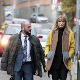 Alba Carrillo llega a los juzgados para enfrentarse a Feliciano López en su divorcio