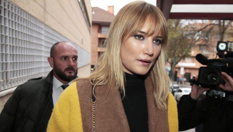 Alba Carrillo se reencuentra con Feliciano López en los juzgados para su divorcio
