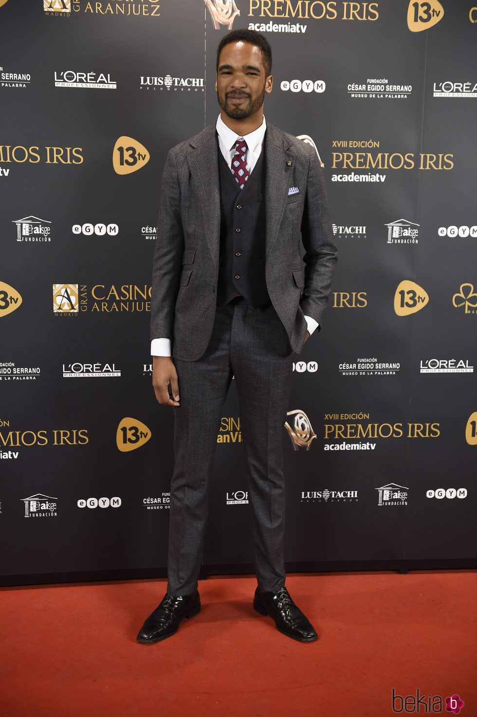 Will Shephard en los Premios Iris 2016
