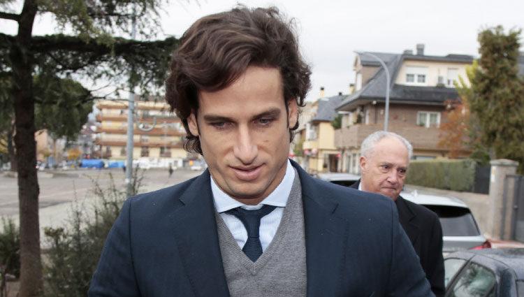 Feliciano López se reencuentra con Alba Carrillo en los juzgados para su divorcio