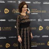 Samantha Vallejo-Nágera en los Premios Iris 2016