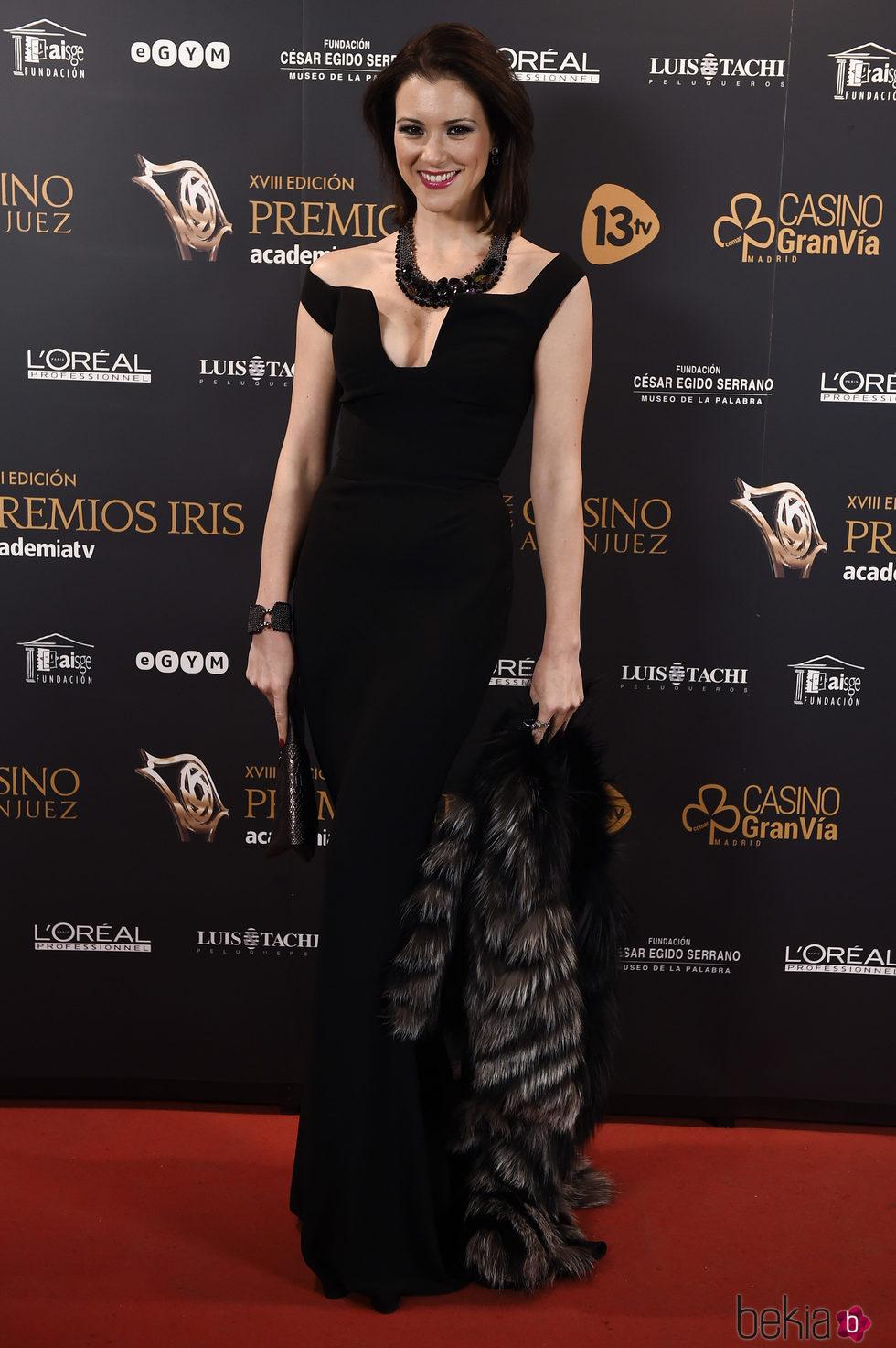 María Jesús Ruiz en los Premios Iris 2016
